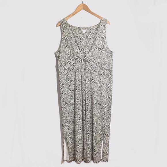 J. Jill Dresses & Skirts - J. Jill Maxi Floral Dress Size XL